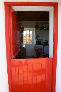 Half Door at Fushia Cottage - Irish Cottage for sale, Co. Clare