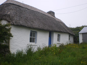 Thatched Cottage at Goleen, Co. Cork