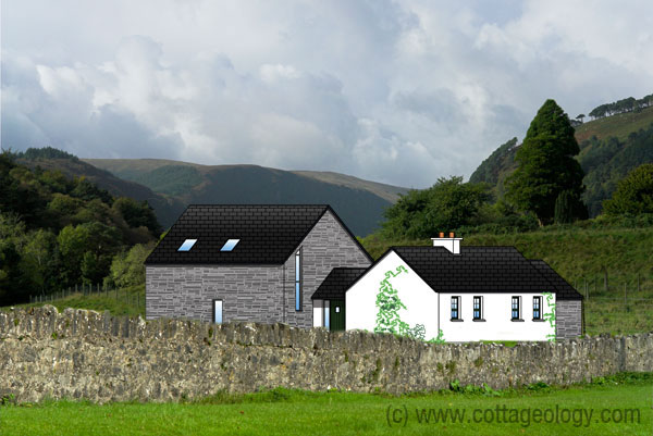 Cottage plans cottageology irish cottages culture for Modern cottage house plans ireland
