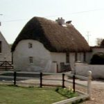 Cottage thatched by Paddy Casey