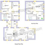 Fushia Cottage - Floor Plans | Irish Cottage Plans