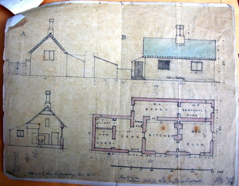 Help locate irish cottage by old plans londonderry for Irish cottage plans
