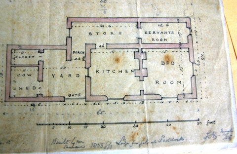 Help locate irish cottage by old plans londonderry for Traditional irish cottage plans