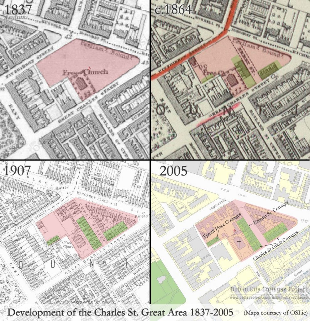 Charles Street Great Area Development 1837-2005 (click to enlarge)