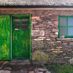 irish-stone-cottage-green-door