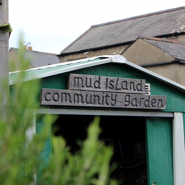 Mud Island Community Garden Shed