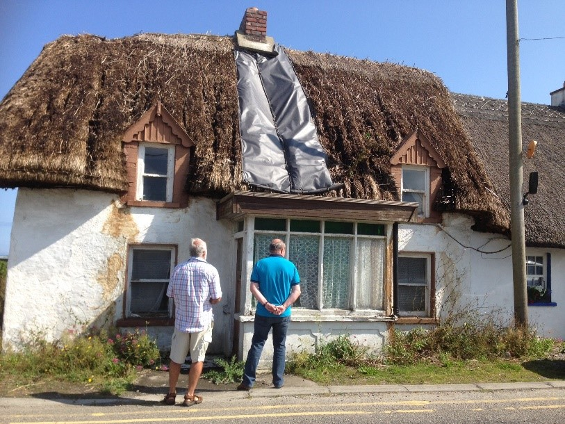 Renovation of a Thatched Cottage in Kilmore Quay - Cottageology - Irish Cottages & Culture
